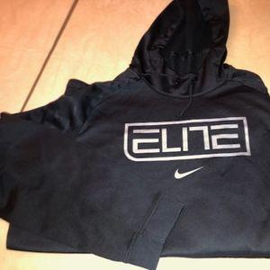 Nike Elite Therma Fit Black Hoodie XL